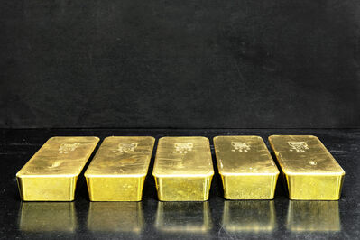 Paul Bulteel, 'Gold ingots with a purity of 99.99% recovered from indus- trial by-products and end-of-life items such as mobile phones, circuit boards, automotive catalysts, and industrial catalysts, to name a few. These products are  nely shredded and melted down in an oven, in which the plastic components contribute to the fuel.', 2015