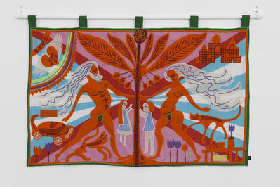 Grayson Perry, 'Marriage Flag', 2019