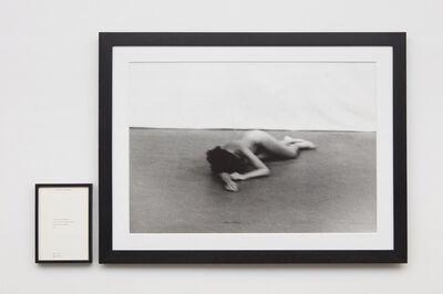 Marina Abramović, 'Freeing the Body',  1975;  publ. 1994