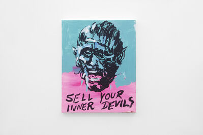 Alvaro Seixas, 'Untitled Painting (Sell Your Inner Devils)', 2017