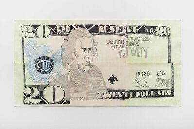 Keren Cytter, 'Andrew Jackson (banknote)', 2017