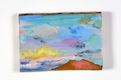 Ida Tursic & Wilfried Mille, 'Landscape and Vesuvio with clouds', 2018