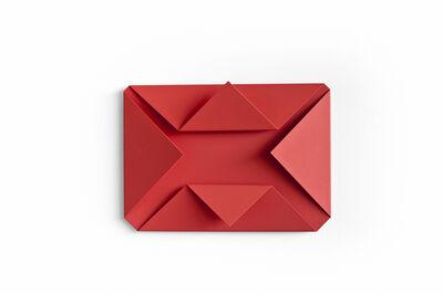 Sébastien de Ganay, 'Red Folded Flat 03', 2015