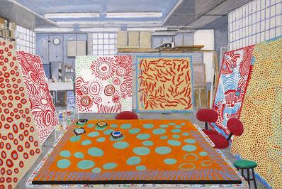 Damian Elwes, 'Kusama's Studio in Tokyo', 2019