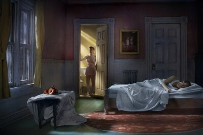 Richard Tuschman, 'Pink Bedroom (Still Life At Night)', 2013