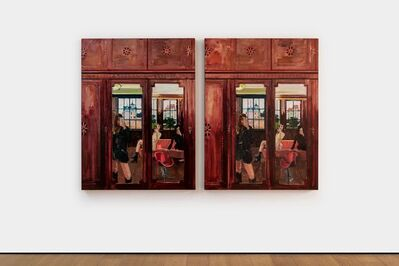 Li Qing, 'Spot the Difference · Rear Windows (6 differences)', 2019-2020
