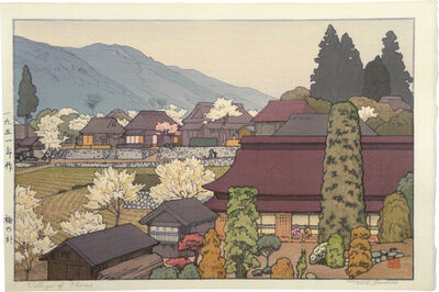 Toshi Yoshida, 'Village of Plums', ca. 1951