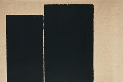 HyongKeun Yun, 'Burnt Umber & Ultramarine', 1997