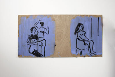 Ilona Szalay, 'Blue 3', 2016