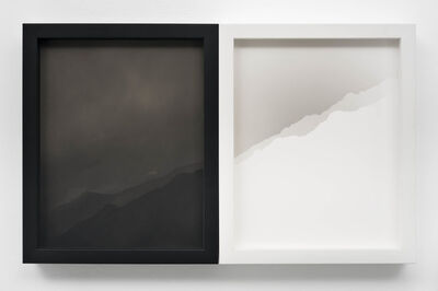 Scott B. Davis, 'Two Nearly Identical Ridgelines (Canyon Sin Nombre)', 2019