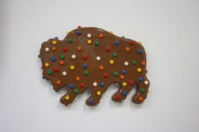 Walter Robinson, 'Brown Animal Cookie', 2018