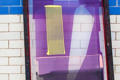 Carla Scott Fullerton, 'Inked Screen (lanes)', 2015