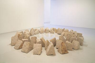Richard Long, 'San Circle (산원 山圓)', 1993