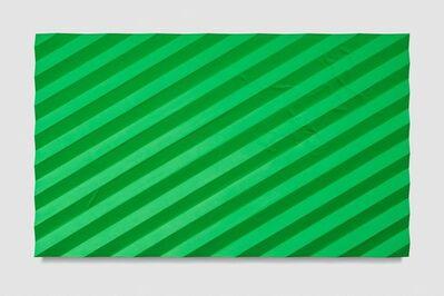 Mark Hagen, 'Contemplation of Nature (Accordion Fold Light Green)', 2017