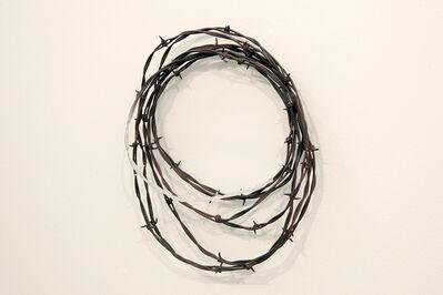 Nobuaki Onishi, 'Yushitessen (Barbed Wire)', 2015