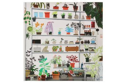 Jonas Wood, 'Large Shelf Still Life Poster', 2017