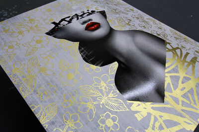 HUSH, 'Le Buste I Artist Proof 22ct Gold Leaf', 2020