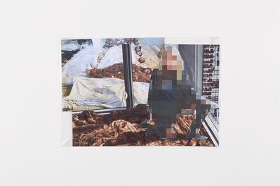 Thomas Hirschhorn, 'Pixel Collage no. 100', 2017