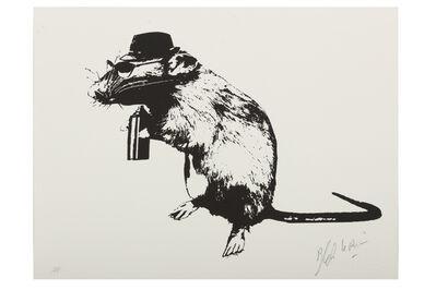 Blek le Rat, 'The Street Artists' Paraphernalia', 2016