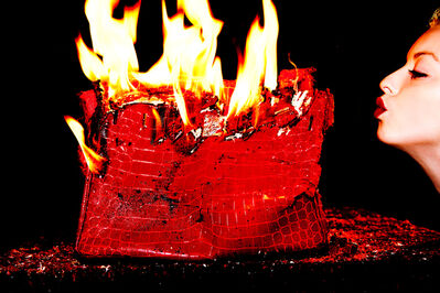 Tyler Shields, 'Burning Birkin ', 2012