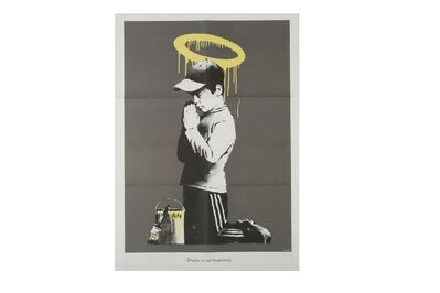 Banksy, 'Forgive Us Our Trespassing'