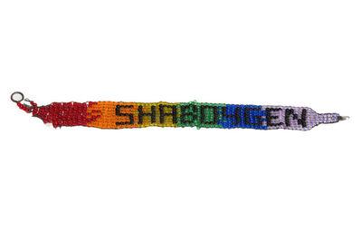 Steven and William Ladd, 'Shaboygen Tape Bracelet', 2000