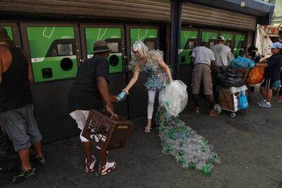 Dominique Paul, 'Increasing Revenue Gap Dress at 125th Street Bottle Depot, Harlem, New York', 2015