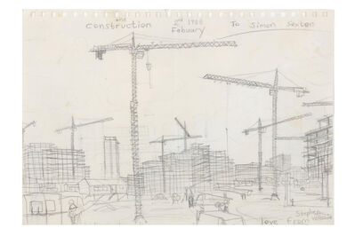 Stephen Wiltshire, 'Small Drawing Construction Side'