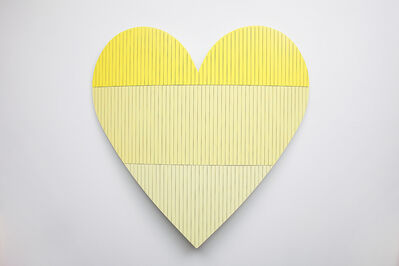 Nick Hollibaugh, 'Heart 1 (Yellow)', 2016