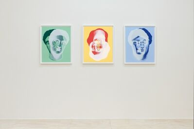 Nicolas Party, 'Portraits', 2018