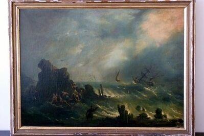Ivan Konstantinovich Aivazovsky, 'Storm on Turkish Coast', 1958