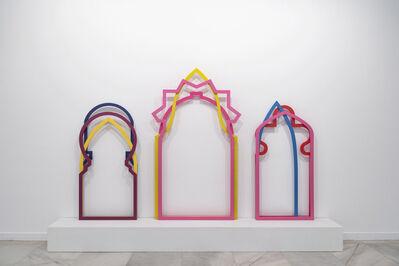 Zoulikha Bouabdellah, 'Trilobé, Plein Centre et Surhaussé', 2013