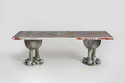 Zhou Yilun 周轶伦, 'Doodly Long Table #33', 2019