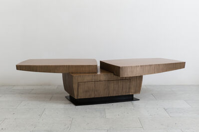 Gary Magakis, 'Bronze Stacked Low Table, USA', 2016