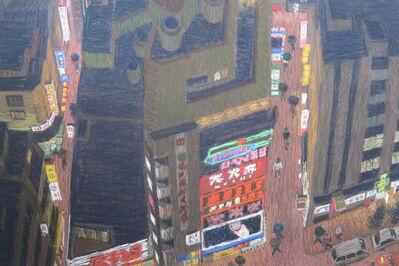 Yvonne Jacquette, 'Shinjuku Pleasure District, Tokyo', 1985