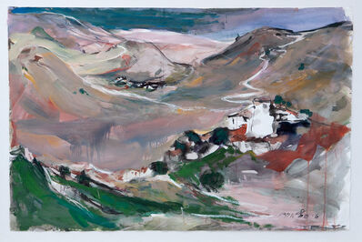 Esther Peretz Arad, 'The Pastel Mountains', ca. 1980