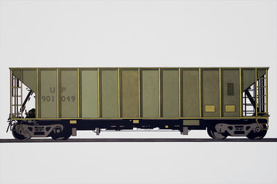 William Steiger, 'Hopper Car 901049', 2018