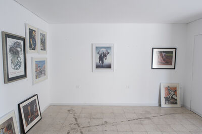 Yazan Khalili, 'Copy of a Copy of a Copy ', 2017
