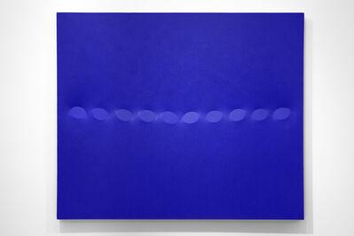 Turi Simeti, '10 ovali blu', 2017
