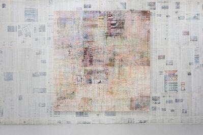 Mandy El-Sayegh, 'Net-Grid (fall)', 2020