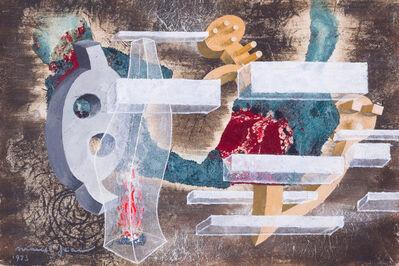 Marcel Jean, 'Objects, flamme, cristal et pierres', 1973