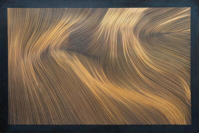 John Franzen, 'Each Line One Breath - Black Copper', 2017