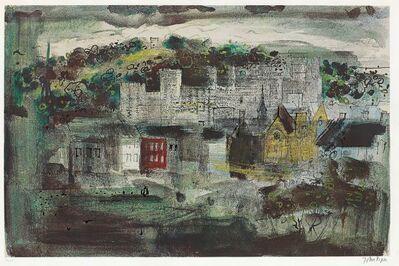 John Piper, 'Caernarvon Castle II', 1971
