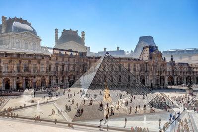 Nicolas Ruel, 'Cour du Louvre (Paris, France)', 2018