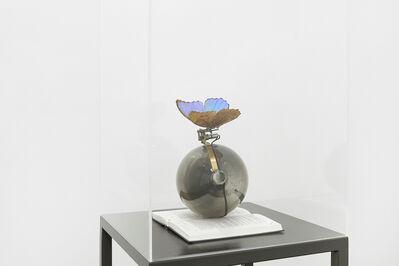 Rebecca Horn, 'Das Blau des Himmels, G. Bataille', 2014