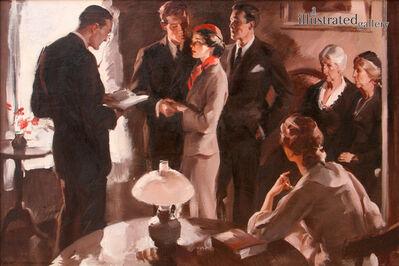 Pruett Alexander Carter, 'At Home Wedding', 1941