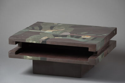"Pierre-Elie Gardette, '""Abstract Table""', 1971"