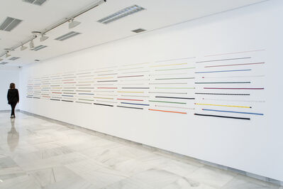 Jac Leirner, '120 Cords (Handmade)', 2014