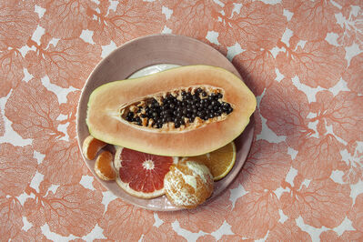 Lucia Fainzilber, 'Peach - The Cookbook Series', 2019