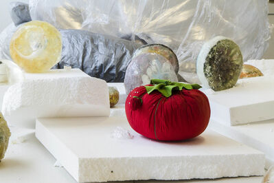 Eric Sidner, 'Large Tomato Pin Cushion', 2013